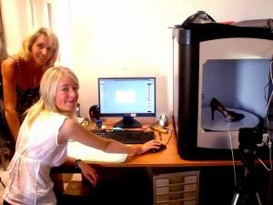 Le mini-studio permet de présenter les produits en 3D