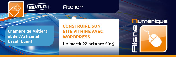 Site vitrine avec WordPress