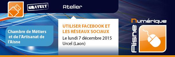 Atelier Facebook